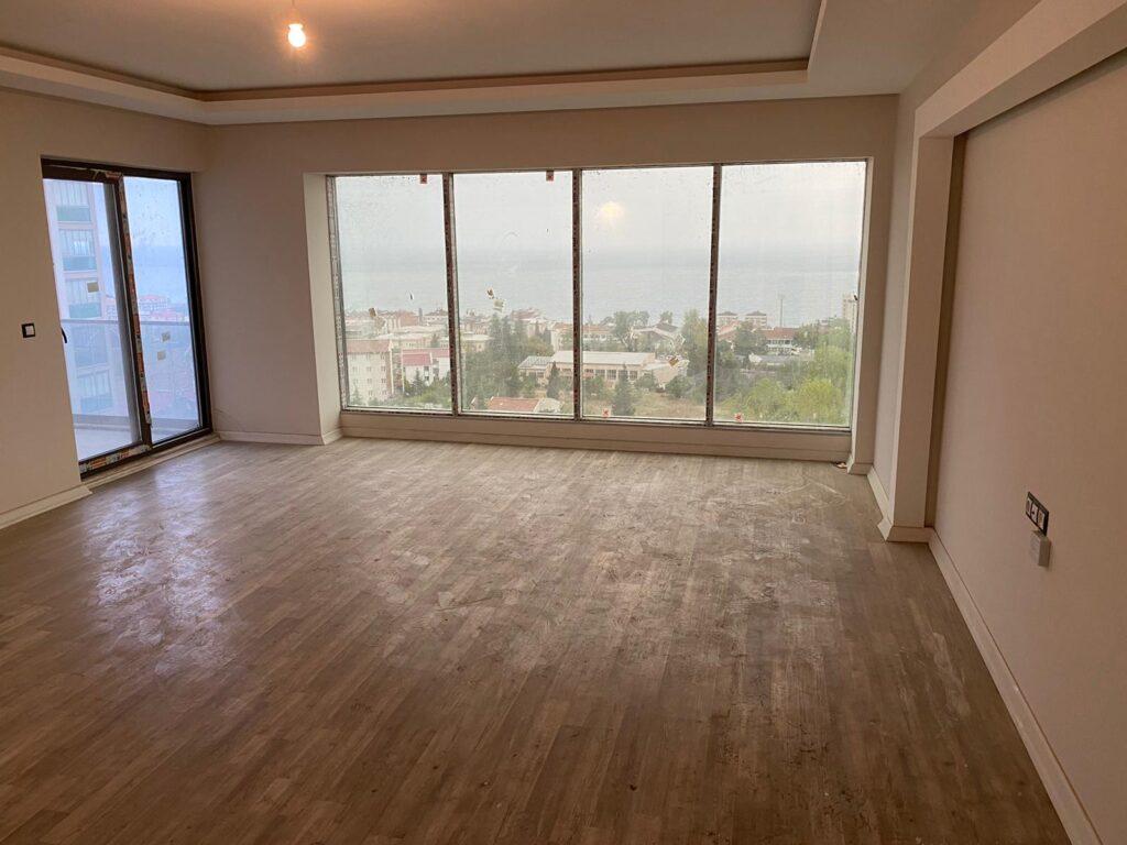للبيع اربع غرف وصالة في طرابزون